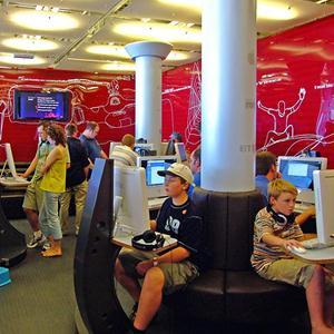 Интернет-кафе Сибая